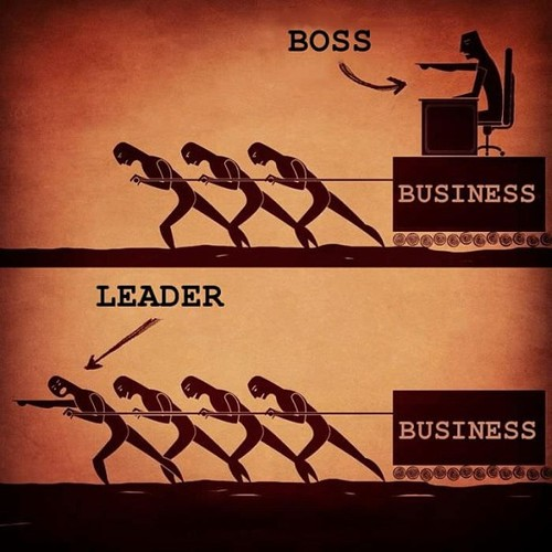 boss and leader